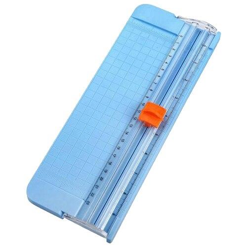 1 pces 9090 mini cortador de slide corte cortador de papel para material de escritório e escola, 4 cores