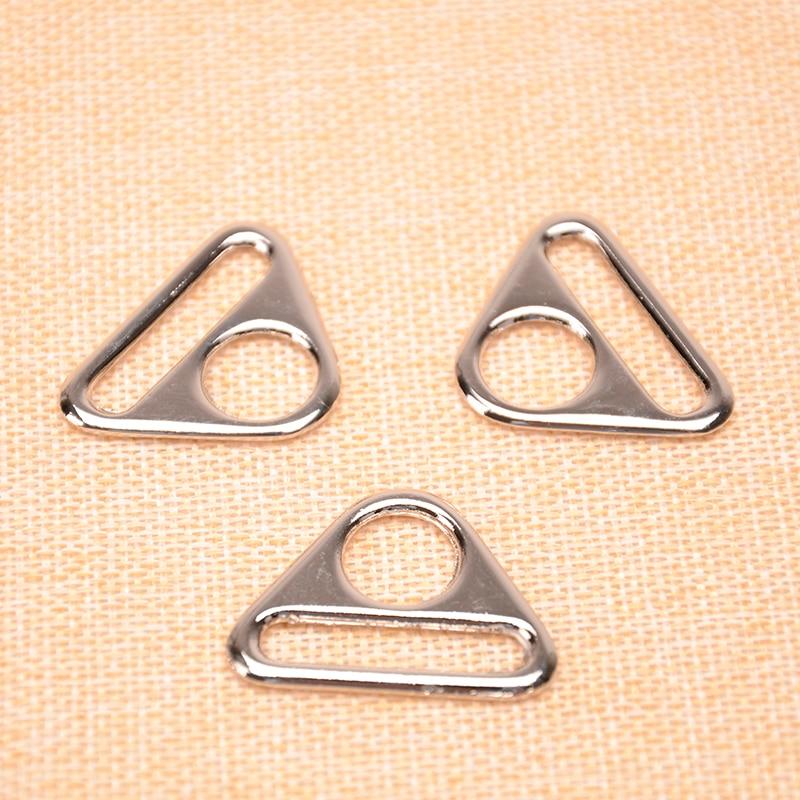 1 дюймов серебро Треугольники пряжка, ремешок Застежка, разъем застежка, чемодан замена застежка ...