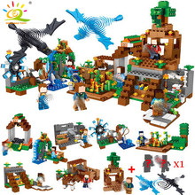 771pcs 8in1 Minecrafted Manor Estate House My World Building Blocks Bricks set Compatible Legoingly city boy toy for children(China)