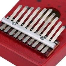 New 10 Keys Birch Finger Thumb Piano Mbira
