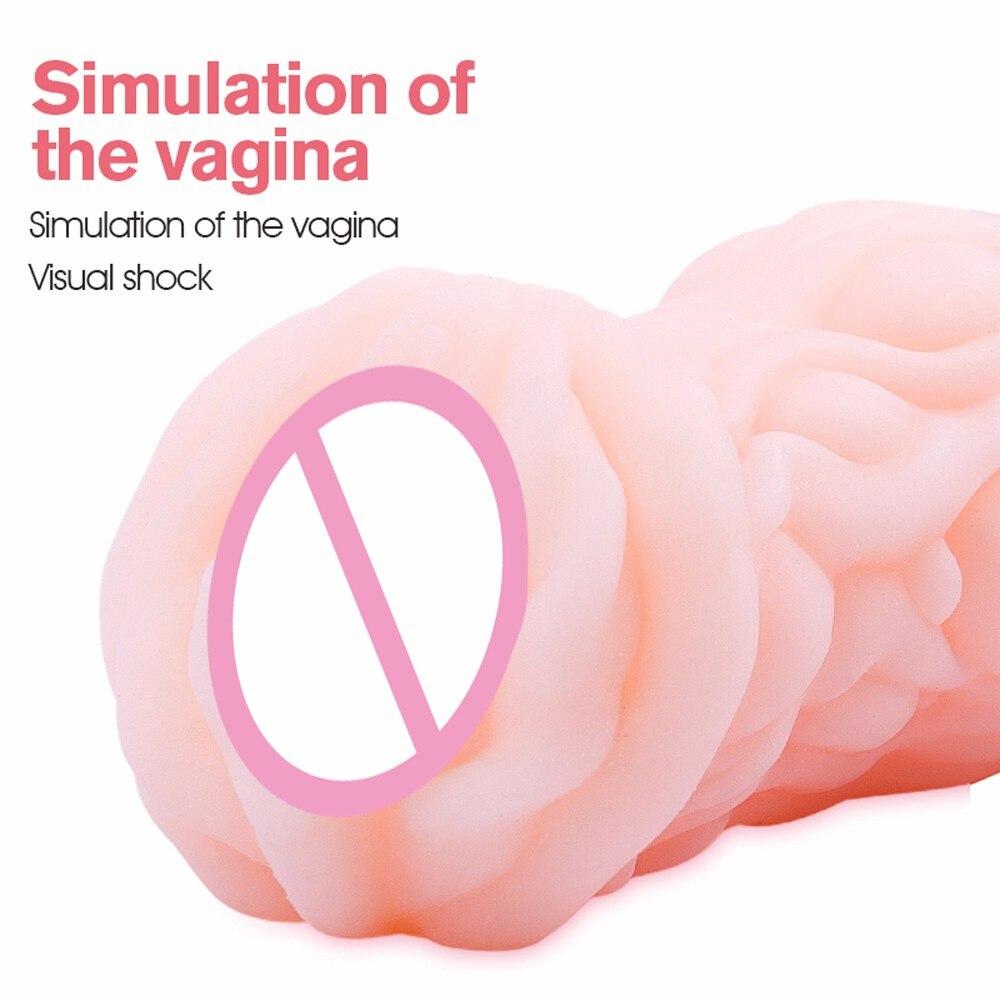 Мужская карманная киска настоящая кукла мягкий силиконовый искусственный вагинальный Happy Enjoy men t косплей реквизит Случайная