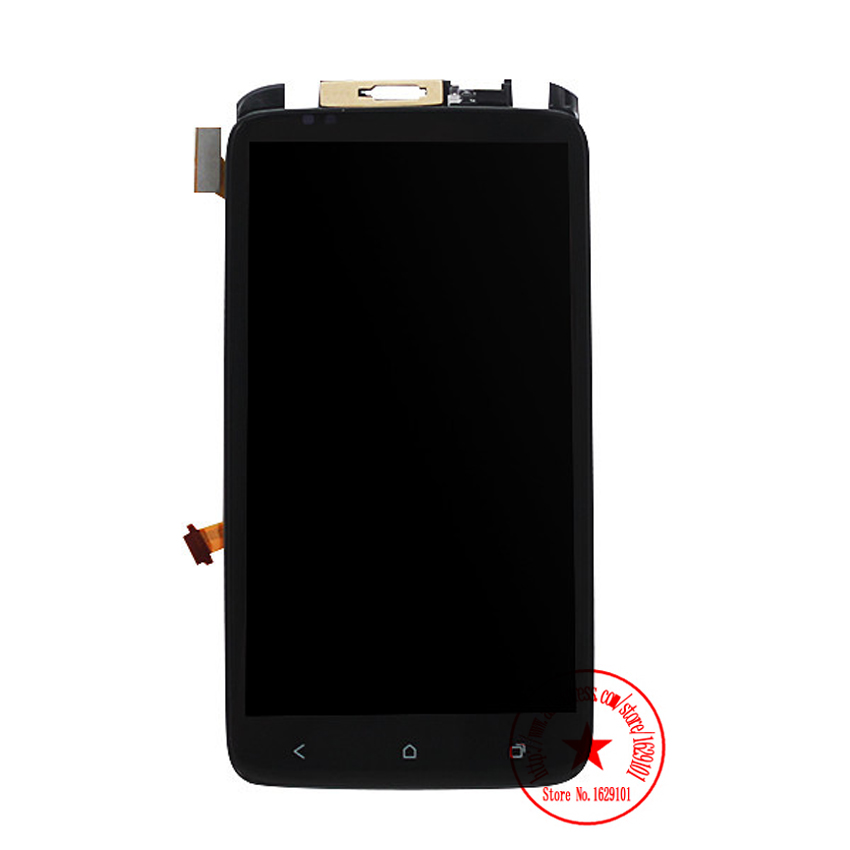 TOP Quality Full LCD Display Touch Screen Digitizer Assembly + Frame For HTC One X S720e G23 Replacement Parts Free shipping