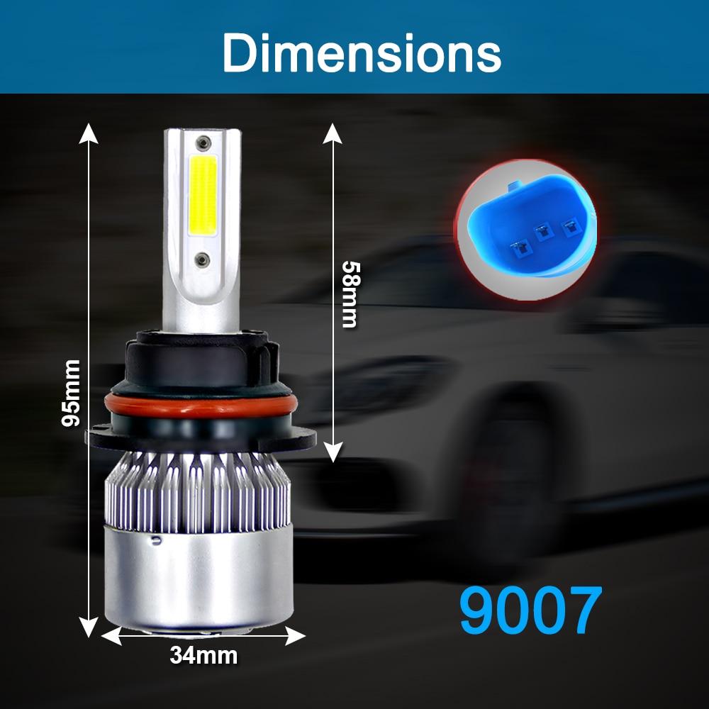 HTB1YZwrJCzqK1RjSZPcq6zTepXaE ZTZPIE 6000K 8000K 12V C6 H3 H7 H1 12000LM 9006 H13 H4 H11 headlight Led Bulbs Bullet Super Bright Turbo Fan 7 Blades Car Light