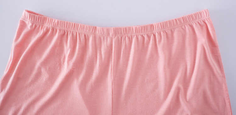 Clobee 5-6xl Plus Big Size Mulheres Modal Anti-Exposição plus size Calças Curtas de Grandes Dimensões de Meia Idade Mãe de Cintura Alta cuecas