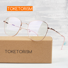 Toketorism clear lens eyeglasses prescription glasses woman miopia spectacle frames men 5413