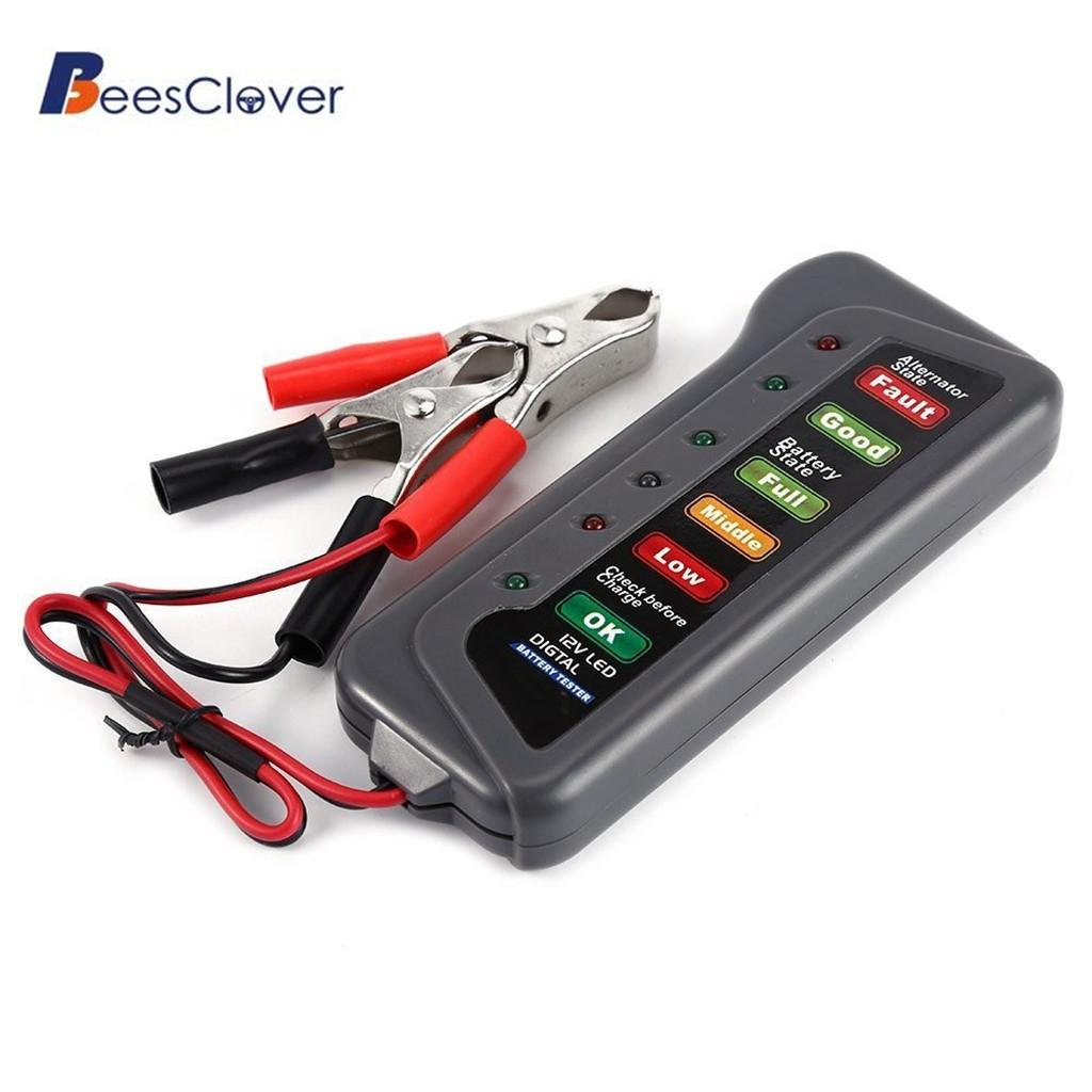 Adeeing ALTERNATOR-TESTER Battery 6 12V For Car Motorcycle-Trucks Digital R30 Display