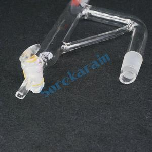 Image 4 - 24/29 Joint Lab Glass Oil Water Refulx Decantor Separator Glass Stopper Distill