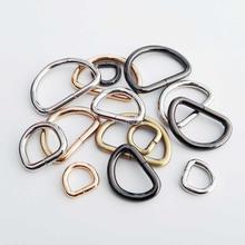 Металлическая Высококачественная ручная сумка, кошелек, ремень, собачий ошейник, цепь, веб-кольцо с о-образной пряжкой, застежка, сделай сам, сверхмощная, сильная толщина