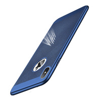 case iphone 5 Ultra Slim Phone Case For iPhone XS MAX XR X 6 6s 7 8 Plus Hollow Heat Dissipation Cases Hard PC For iPhone 5 5S SE Back Cove (4)