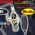 Bm800 студии звукозаписи конденсаторный микрофон профессиональный микрофон майк для гитары караоке певческая школа вещания DJ пк микрофон