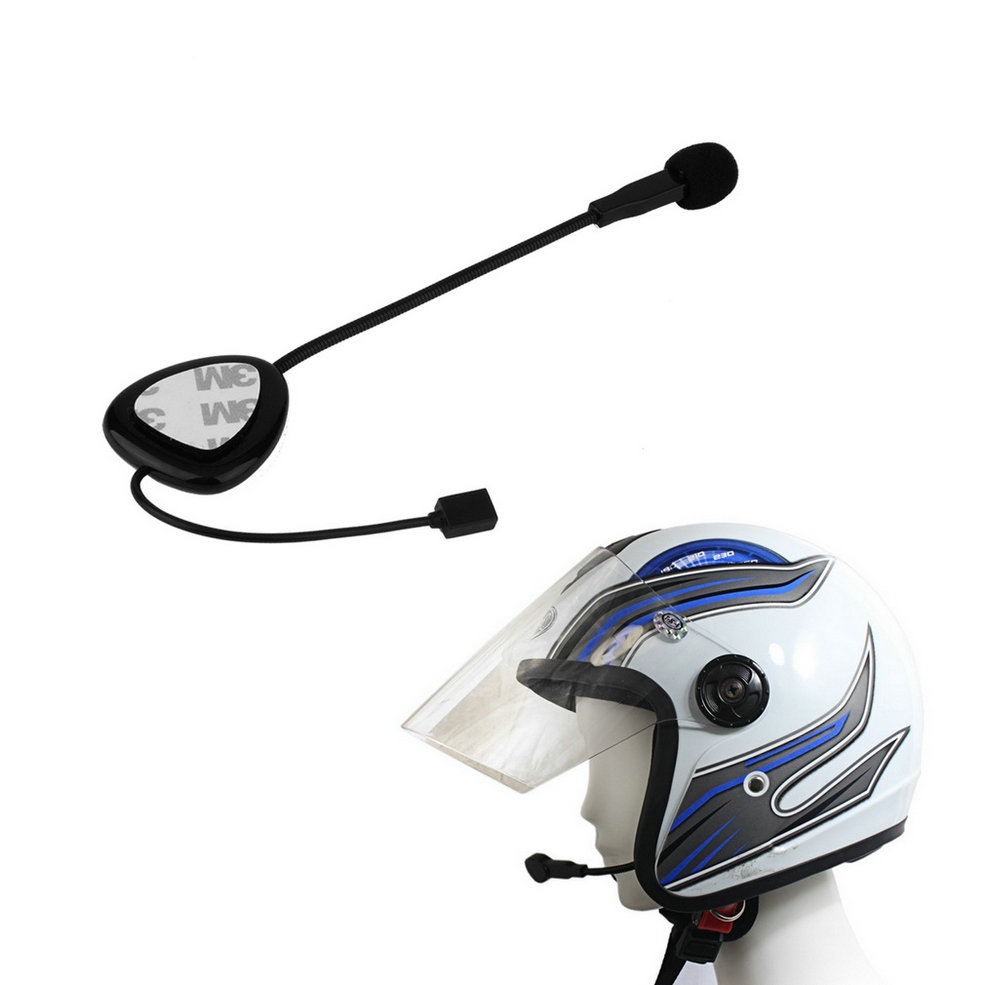 Wholesale Bluetooth Motorbike Motorcycle Bike Helmet 100M Intercom Headset HeadPhone lexin 2pcs max2 motorcycle bluetooth helmet intercommunicador wireless bt moto waterproof interphone intercom headsets