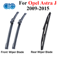 Dianteiro E Traseiro de Borracha de Silicone Wiper Blade Para Opel Astra J 2009 2010 2011 2012 2013 2014 2015 Acessórios Do Carro Brisas