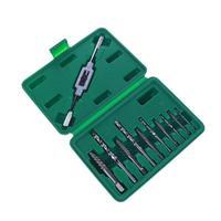 11PCS Screw Extractor Broken Bolt Remover Drill Bits Guide Bits Set Remove Broken Bolt With Holder
