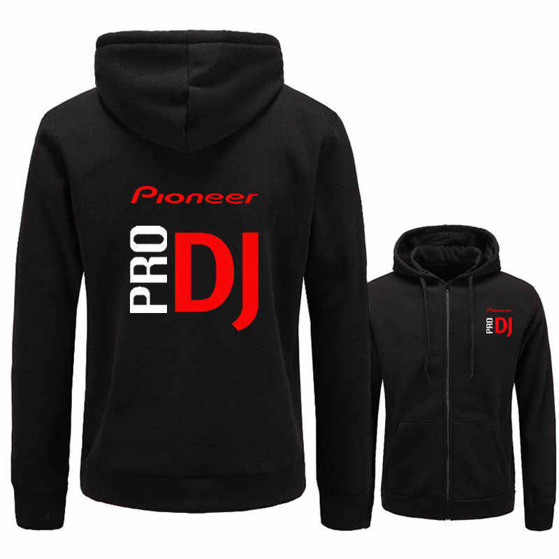 Nuevo 2018 sudadera Pioneer Pro DJ Club Cdj Nexus de Audio Ddj Sudadera con capucha de las mujeres de los hombres casuales de lana sudaderas con capucha Sudadera con capucha de hip hop