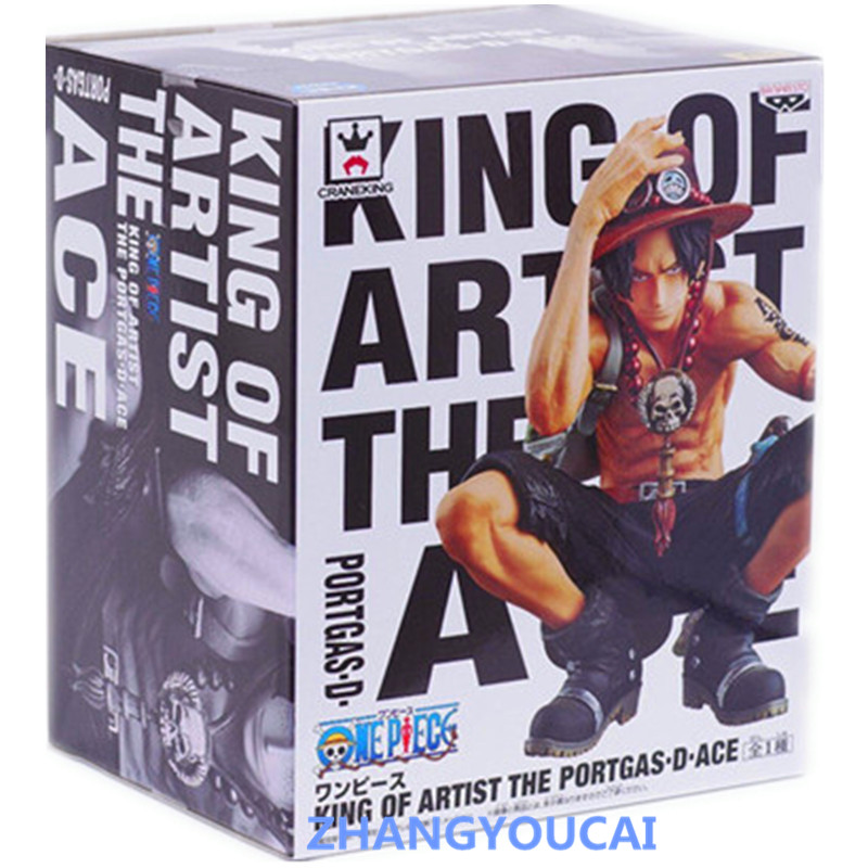 J G Chen font b Anime b font One Piece King Of Artist Portgas D Ace