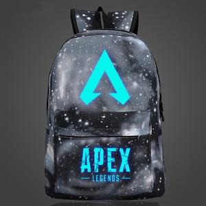 Image 5 - New Arrival Hot Game plecak APEX LEGENDS Luminous plecaki podróżne School