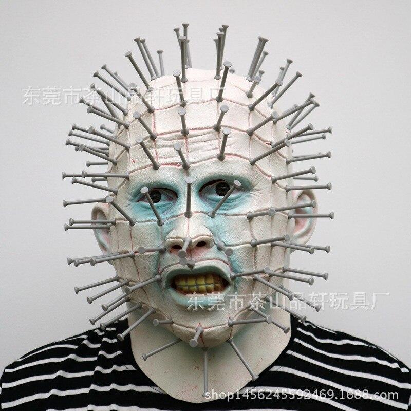 2017 Nouveau Halloween Horreur Masques Adulte Costume Horreur Latex Partie effrayant Masque Zombie Tête Masque Cosplay Prop Fantaisie Robe Décor jouets