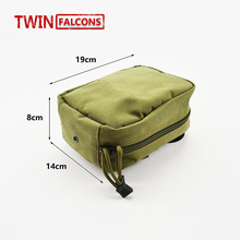 Molle Medical Military First Aid Kit Pouch EMT CORDURA Modular Combat Hunting Camping Tactical Hike TW-P017