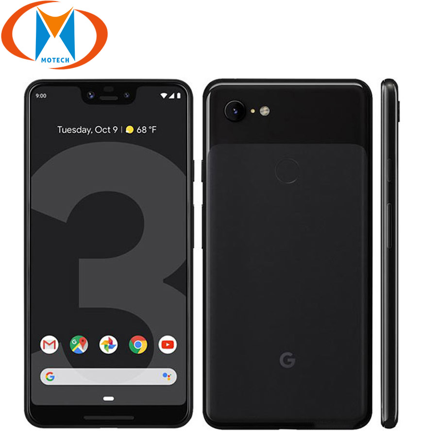 New Original Google Pixel 3 XL 128GB Mobile Phone 6.3 Snapdragon 845 4GB RAM 64GB ROM Android 9.0 NFC Fingerprint Smartphone image