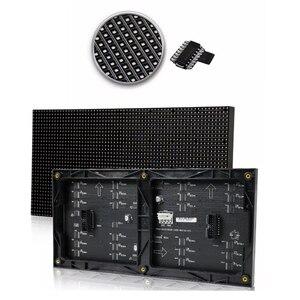 Image 3 - P4 מקורה צבע מלא led תצוגת לוח, 64*32 פיקסל, 256mm * 128mm גודל, 1/16 סריקה, smd 3 ב 1,4mm rgb לוח, p4 led מודול