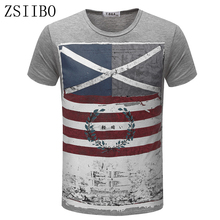 ZSIIBO TX82 shipping full tracking Tops Tees Short Sleeve t shirt Man,Men's T-shirt men's brand fashion round neck men T shirt