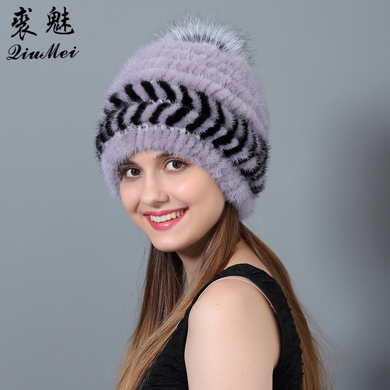 QiuMei Ženske klobuke iz naravne kože iz umetne kože Novo bežice - Oblačilni dodatki - Fotografija 3