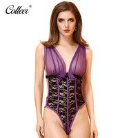 COLLEER 2018 New Lace Bra Set Bra Brief Sets Lace Bralette Women Underwear Set Transparent Bra