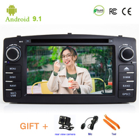 Car DVD player Corolla E120 BYD F3 Ceed GPS stereo audio navigation,Android 9.1,Double DIN Bluetooth