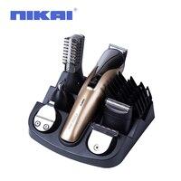 Multifunctionele Elektrische Tondeuse Grooming Kit Neus Oor Baard Clipper Snor Trimmers Scheerapparaat Pak Haar Cutter voor Barbers