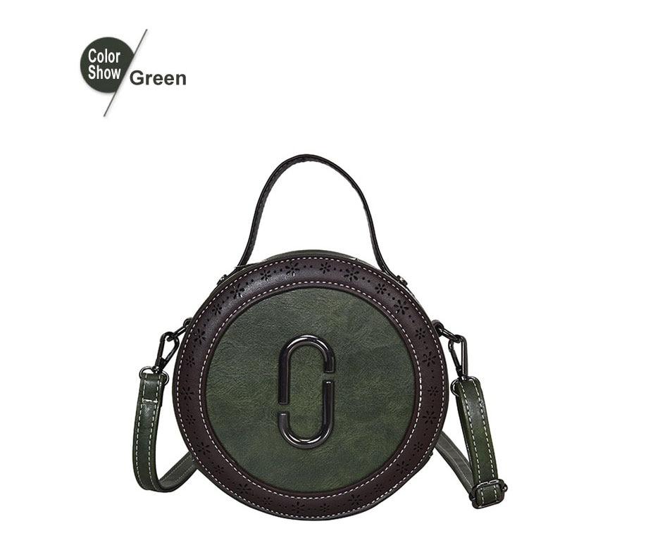 Famous Small Round Shoulder Bags Designer Mini Clutch Purses Diamond Lattice Chain Messenger Bags Wide Camera