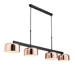 Nowoczesny złoty żyrandol lampka led do jadalni 4 światła obrotowe żyrandole sufitowe żelaza do kuchni salonu w Wiszące lampki od Lampy i oświetlenie na