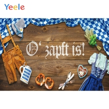 Yeele Oktoberfest Carnival Foods Wood Wheat Clothes Photography Backdrops Personalized Photographic Backgrounds For Photo Studio