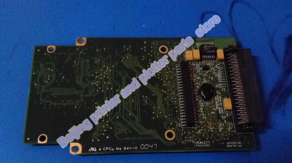 90% new GL/2 formatter PC board without HDD Firmware Designjet 800 800ps plotter C7779-60272 C7779-69272 C7769-60143 C7769-60300 for hp1100 t1100ps t610 40g hard drive hdd formatter without new q6683 67027 q6683 67030 q6684 60008 q6683 60193 q6683 60021