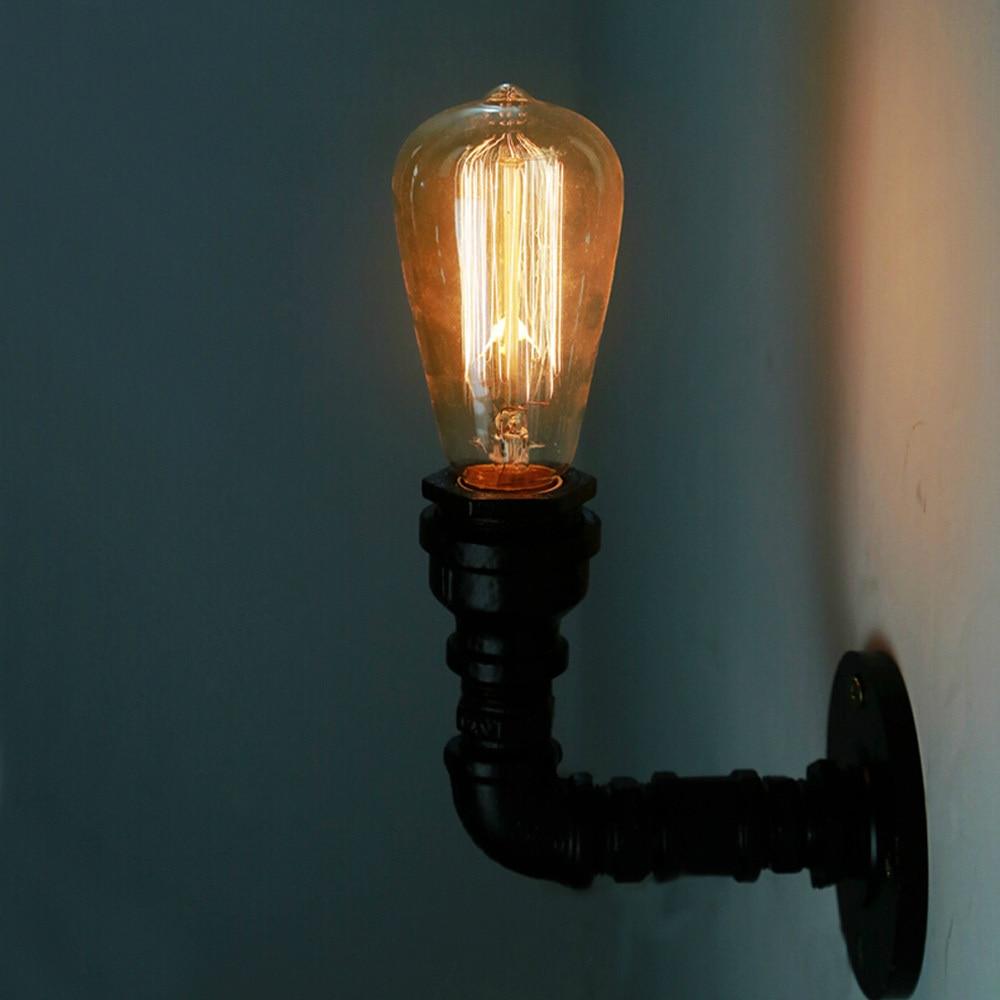 Loft Vintage Classic Black E27 Wall Light For Aisle/Bar/Bedroom Iron ... for Vintage Classic Wall Lamp  45hul