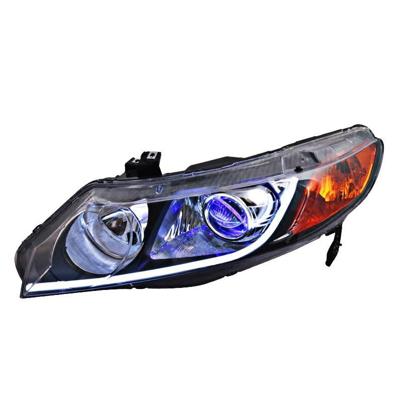 Assessoires Daytime Running Led Side Turn Signal Automovil Front Fog Headlights Rear Car Lights Assembly For Honda Civic