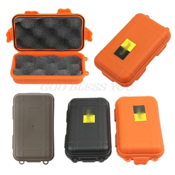 Outdoor Plastic Waterproof Airtight Survival Case Container Storage Carry Box Drop Shipping