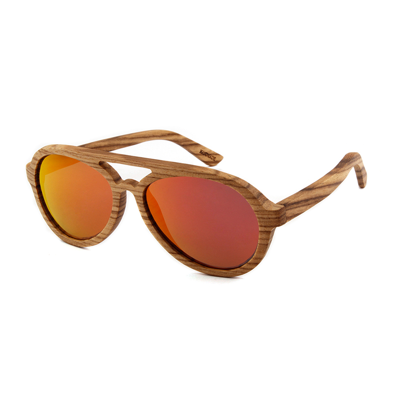 Image 5 - Toketorism wooden sunglasses men polarized uv400 high quality wood glasses 8303-in Men's Sunglasses from Apparel Accessories