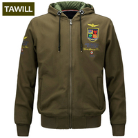 TAWILL 2017 Newv Fall Winter Fleece Men S Hoodies Military Air Force One Army Printed Pullover
