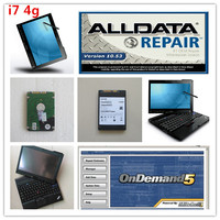 All data auto repair software HDD installed x201t i7 4g Touch Screen Rotation Alldata 10.53 and Mitchell software in 1tb hdd