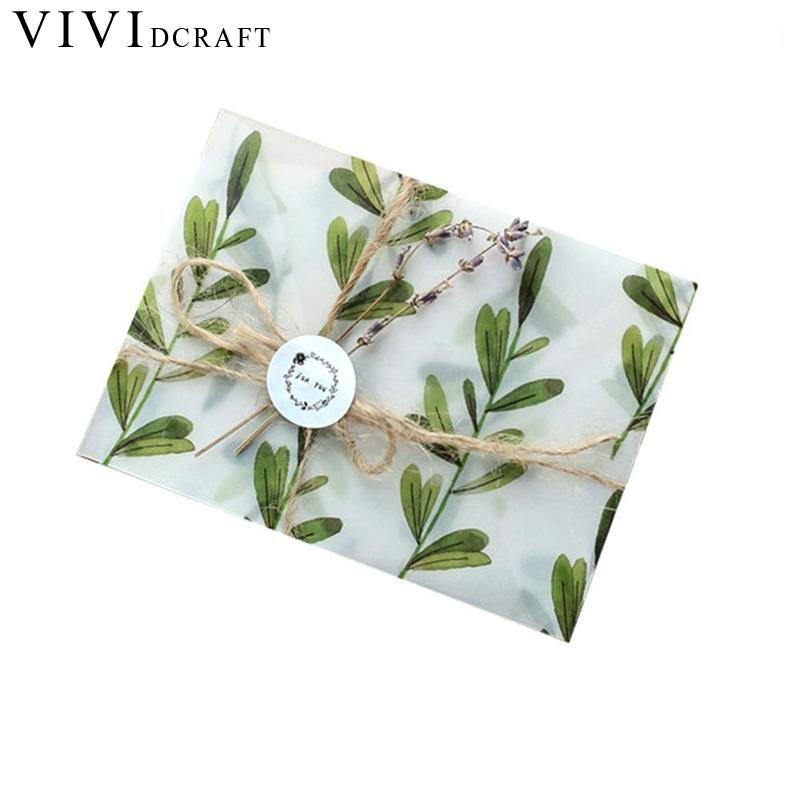 Kawaii Flower Sulfuric Acid Paper Envelope For Postcard Kids Gift School Supplies Vividcraft 3 Envelopes+4 Sealing Pastes