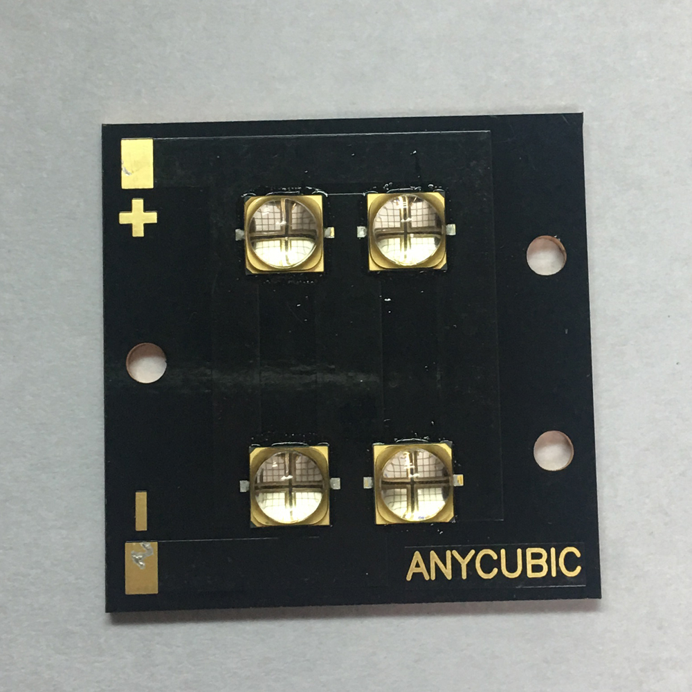 The New Factory direct 40 watts high-power LED UV violet 6565 365nm 370nm 380nm 385nm 395nm 400nm 405nm 40*40mm board