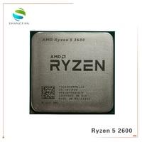 AMD Ryzen 5 2600 R5 2600 3.4 GHz Six Core Twelve Core 65W CPU Processor YD2600BBM6IAF Socket AM4