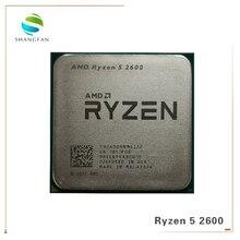 Processador amd ryzen 5 2600 2600 ghz, cpu r5 six core e twelve core, 65w soquete, 3.4 ghz am4