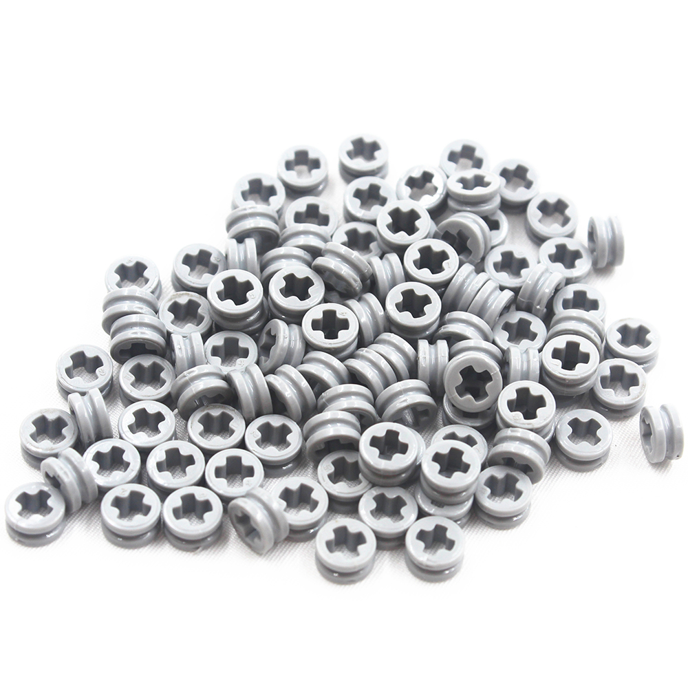 Building Blocks MOC Technic Parts 100pcs 1/2 BUSH Compatible With Lego For Kids Boys Toy MOC4239601
