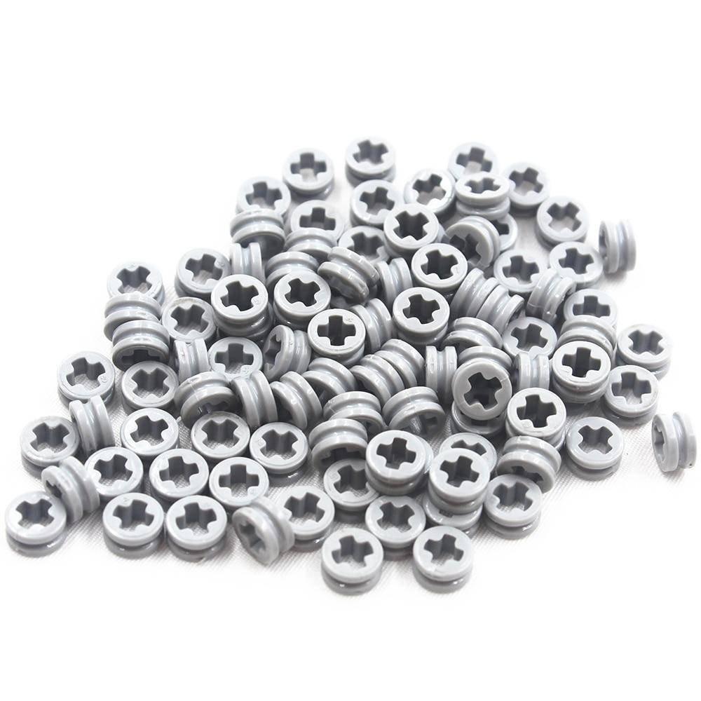 Building Blocks MOC Technic Parts 100pcs 1/2 BUSH Compatible With Lego For Kids Boys Toy MOC4239601