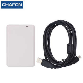 CHAFON usb desktop keyboard emulation rfid uhf reader support ISO18000-6B/6C protocol free sample card for access control - DISCOUNT ITEM  13% OFF Security & Protection