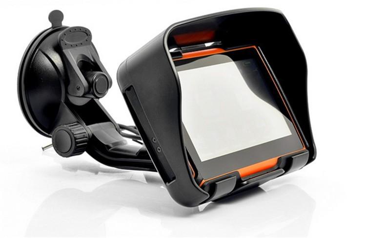 Hot sale 4.3 Inch 8GB 128256 RAM IPX7 Waterproof Moto Bluetooth GPS Navigator for Motorcycle Motorbike Car+Bracket Free Maps (5)