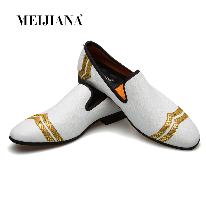 Men's Shoes Casual Shoes Fashion Loafers Men Luxury Handmade Loafers Men Shoes Luxury White Casual Shoes