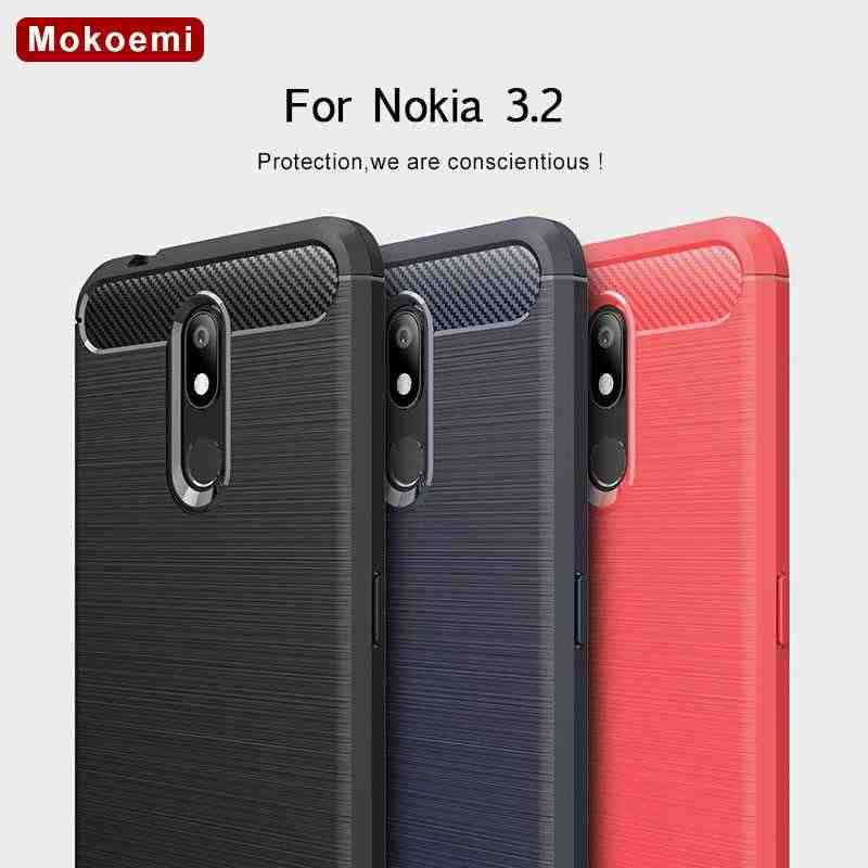 "Mokoemi Fashion Shock Proof Soft Silicone 6.26""For Nokia 3.2 Case For Nokia 3.2 Cell Phone Case Cover"