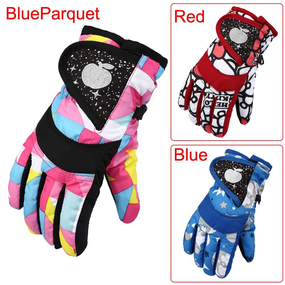 Winter Outdoor Men Women Boy Girl Chidren Ski Gloves Snowboard Gloves Motorcycle Skiing Climbing Waterproof Snow Warm Gloves